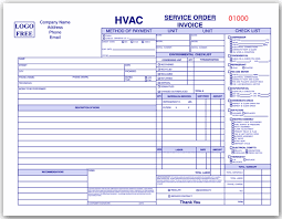 Air Conditioning Invoice Template by 11 Hvac Service Order Invoice Template Paid Invoice
