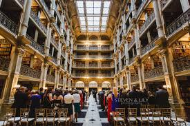 wedding venues in baltimore the george peabody library