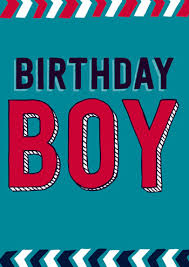 birthday boy boy birthday card