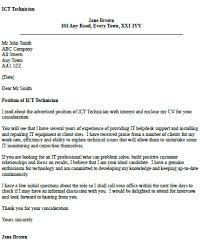 Ict Cover Letter ict technician cover letter exle iocver org uk