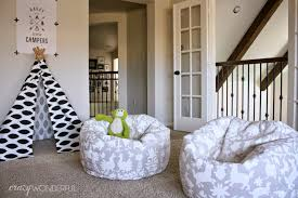 Bed Bath Beyond Chairs Otomi Print Bean Bag Chair Diy Crazy Wonderful