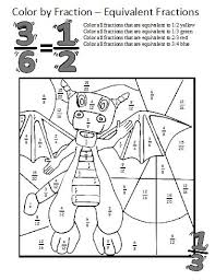 coloring pages math worksheets equivalent fractions worksheets these coloring sheets make