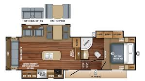 eagle ht 28 5rsts 5th wheel floor plan