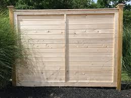 wood fence cedar fence picket fence fence authority