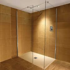 Shower Door Parts Uk by Traymate 10mm Wetroom Walk In Enclosure And Stone Shower Tray