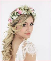 bridal hairstyles down curly bridal hairstyles with veil hair