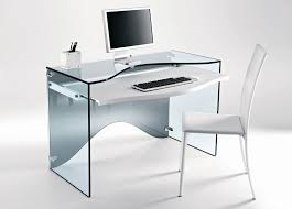 Home Office Glass Desks Modern Style Glass Desk Office All Office Desk Design