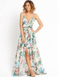 wedding guest dresses for summer bohemian style women s maxi dress with halter neck large floral