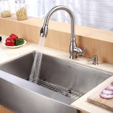 Sink Kitchen Faucet Kitchen Convenient Cleaning With Stainless Steel Farm Sink