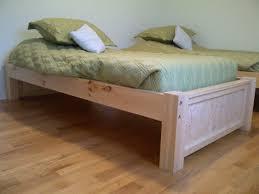 Diy Queen Size Platform Bed - bedroom diy twin platform bed queen bed frame with storage plans