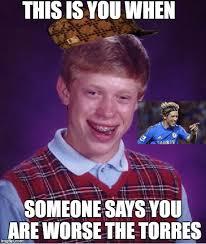 Torres Meme - bad luck brian meme imgflip