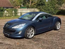 peugeot convertible rcz used peugeot rcz coupe 1 6 thp gt 2dr in princes risborough