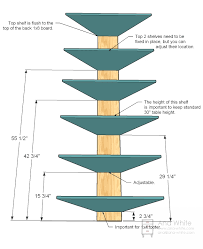 Free Wooden Shelf Plans by Ana White Corner Cupboard Diy Projects