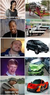 Meme Mobil - ketika tokoh meme punya mobil by rapopo meme center