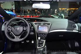 honda civic tourer 2015 2015 honda civic tourer facelift dashboard at the 2014 motor