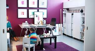purple white home office for the home pinterest ikea kids