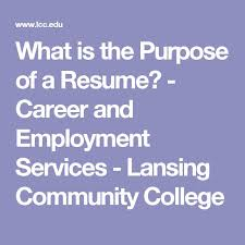 What Is The Purpose Of A Resume 15 Best Skill Up Core Skills For Work Images On Pinterest About