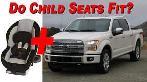 seat 2015 2016 ford f 150 supercrew child seat review 4k youtube