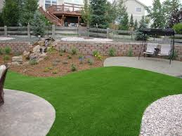 Artificial Grass Backyard by 192 Best Synthetic Grass Landscape Design Images On Pinterest