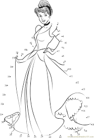 beautiful cinderella printables colouring pages 1 disney