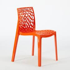 plastique cuisine chaise plastique cuisine bar polypropylene empilable italie