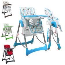 chaise haute haute bébé pliable réglable hauteur dossier et tablette ptit chou