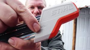 stupid easy chainsaw sharpener ladies kids everyone will love