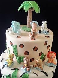 baby jungle animals girls safari cake topper pink jungle baby