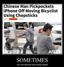 So Proud Meme - mr miyagi would be so proud of this chopstick pickpocket meme