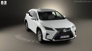 lexus rx 350 360 view of lexus rx 350 2016 3d model hum3d store