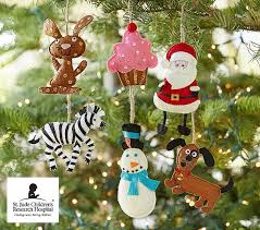 st jude ornament collection pottery barn