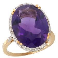 14k gold large diamond amethyst cy901117 jpg