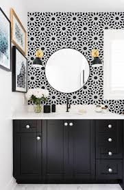 Black And Pink Bathroom Ideas Best 25 Wallpaper For Bathrooms Ideas On Pinterest Small