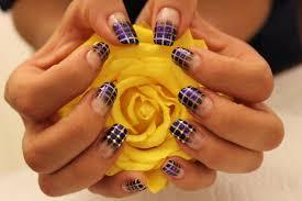 black u0026 gold design nails by nataliya