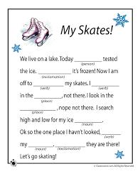 winter mad libs my skates u2013 classroom jr christmas