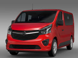 opel vivaro 2017 opel vivaro 2015 3d model vehicles 3d models max fbx c4d lwo lws