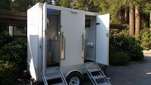 wedding porta potty luxury vip restroom rentals carolina fancy flush