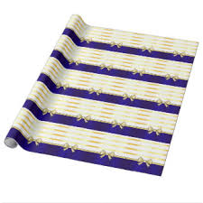 royal blue wrapping paper royal blue and gold wrapping paper zazzle