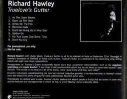 richard hawley truelove u0027s gutter us promo cd single cd5 5