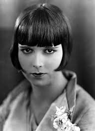 hair styles for late 20 s louise brooks late 1920s canvas print canvas art by everett