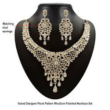 diamond necklace collection images Buy apsara austrian diamond jewellery collection online at best jpg