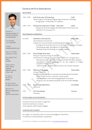 Sample Resume For Master Degree Application by Resume Word Or Pdf Resume For Your Job Application