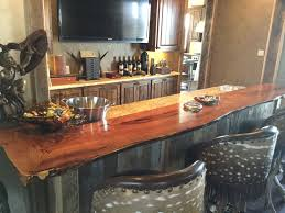 custom wood bar top counter tops island tops butcher block mesquite counter