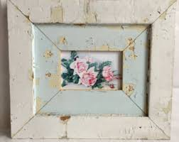 shabby chic vintage ornate large picture frame white 1900 u0027s from
