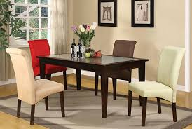 Different Color Dining Room Chairs A Burst Of Colors From 20 Dining Sets With Multi Colored Chairs