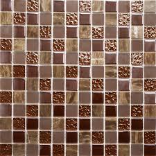 tile brown mosaic tiles home design furniture decorating photo