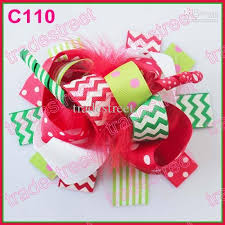 christmas hair bows christmas hair bows fb 100ps character bows korker bows