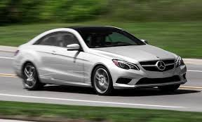 mercedes e400 coupe 2015 mercedes e400 4matic coupe test review car and driver