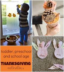 toddler activities for thanksgiving 40 thanksgiving crafts and