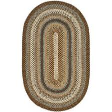 Small Round Braided Rugs Braided Round Oval U0026 Square Area Rugs Shop The Best Deals For